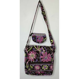 Vera Bradley Womens Crossbody And Coin Purse